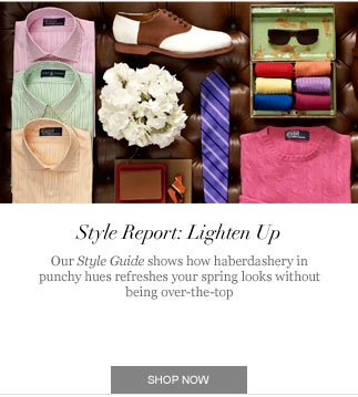 Style Report: Lighten Up