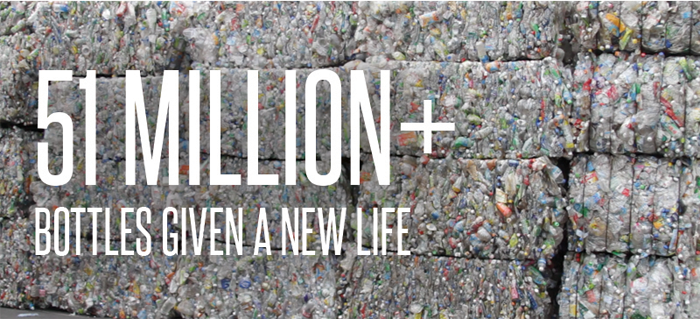 51 Million Plus Bottles Given a New Life