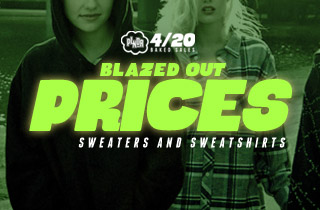 Blazed Out Prices: Sweaters and Sweatshirts