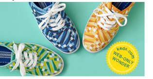 Keds.com WEB-ONLY WONDER