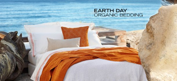 EARTH DAY: ORGANIC BEDDING, Event Ends April 25, 9:00 AM PT >