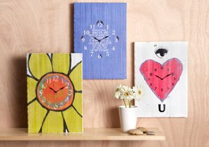 Reclaimed Wooden Clocks