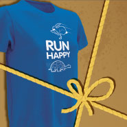 Free Run Happy tech tee with $125 purchase