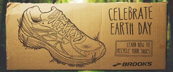 Celebrate Earth Day and learn how to recycle your shoes