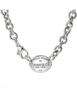 TIFFANY & CO. Made In Usa Necklace 925 Sterling Silver