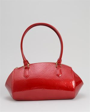 Louis Vuitton LU Vernis Sherwood PM Handbag- Made in France