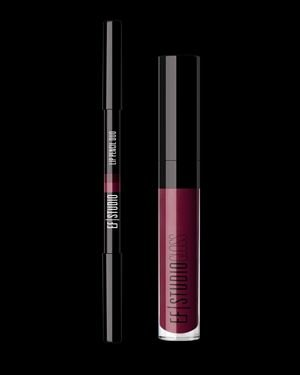 EF Studio Lip Pencil Duo & Lip Gloss Set