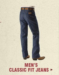 Shop Mens Classic Fit Jeans