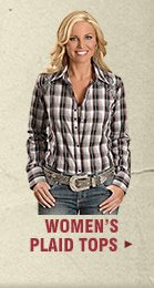 Shop Womens Plaid Tops