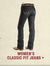 Shop Womens Classic Fit Jeans