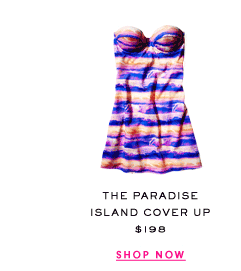 The Juicy Couture Paradise Island Cover Up at $198. Shop Now.