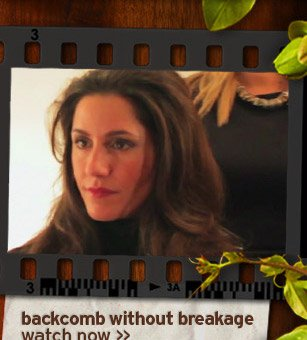 backcomb without breakage watch now