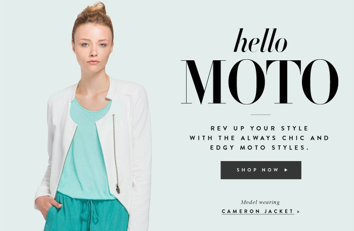 Hello Moto - Shop Cameron Jacket
