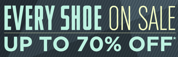 Save on Every Shoe