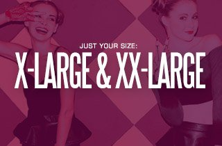 Just Your Size: X-Large & XX-Large