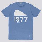 Sky Blue 1977 Print T-Shirt