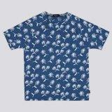 Palm Tree Intarsia T-Shirt