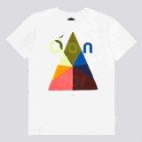 White Qondor Print T-Shirt