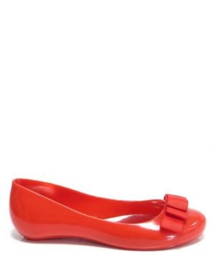 Favolla Solid Color Pleated Detail Embellished Flats Made In Italy