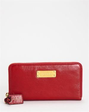 Marc Jacobs 'The Deluxe' Wallet- Made in Italy