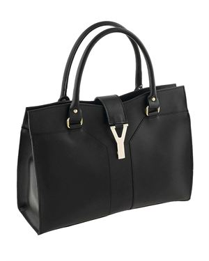 Classe Regina Buckle Embellished Genuine Leather Satchel Made In Italy