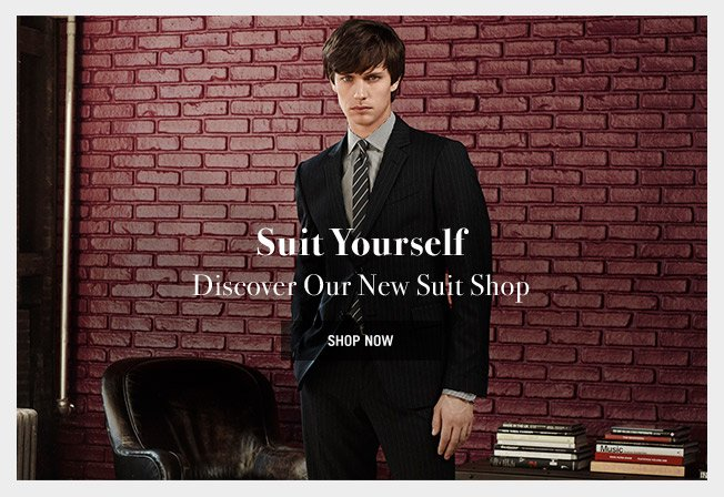 Discover Our New Suit Shop
