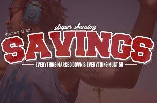 Super Sunday Savings