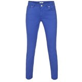 Blue Cotton Twill Jeans