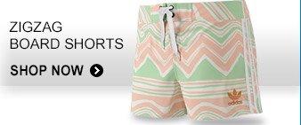 Shop Women's Zigzag Board Shorts »