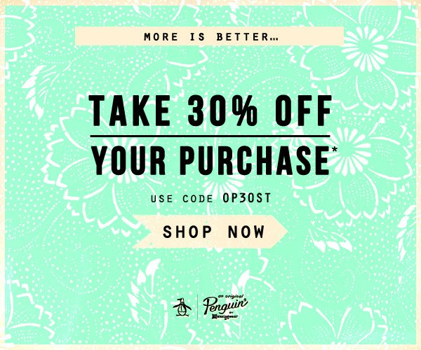 More is Better...Take 30% OFF your purchase - Use code OP30ST