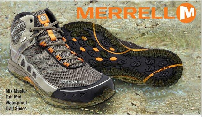 Merrell® Mix Master Tuff Mid Waterproof Trail Shoes