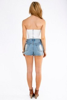 Stretch Bustier Top $25