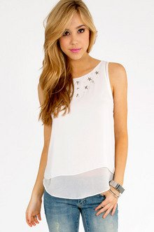 Star Stud Tank Top $32