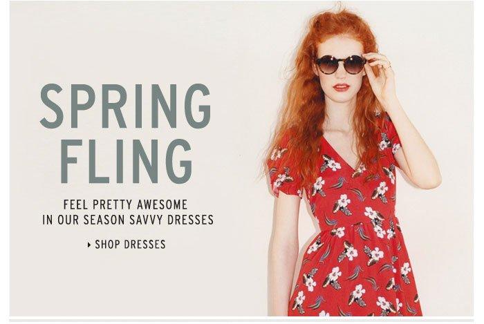 Spring Fling - Shop Dresses