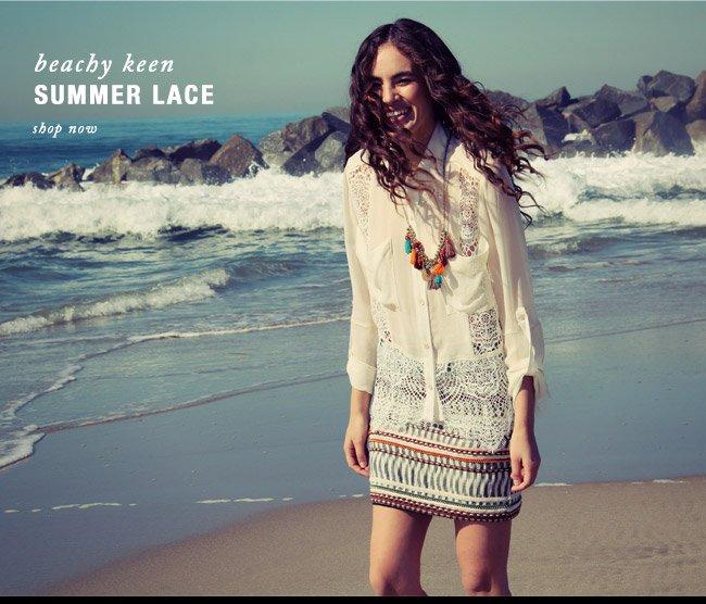 Beechy Keen Summer Lace