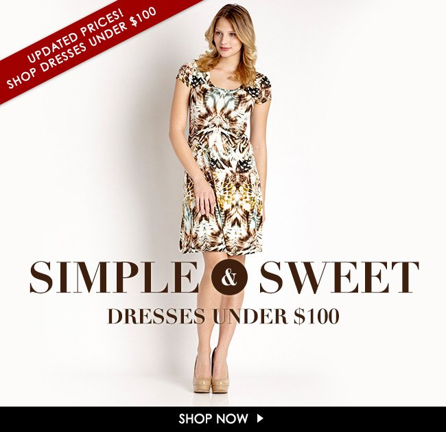 Dresses Under $100 - Updated Prices!