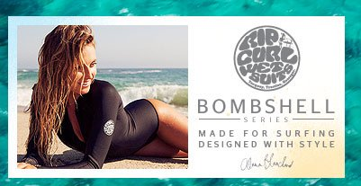 The Bombshell Series - Made for Surfing - Designed with Style - Alana Blanchard