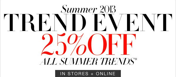 SUMMER TREND EVENT
