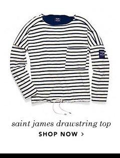 saint james drawstring top