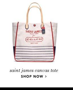 saint james canvas tote