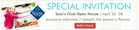 Sam's Club - Open House