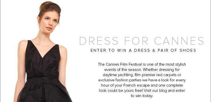 Enter to win a stylish dress and pair of shoes