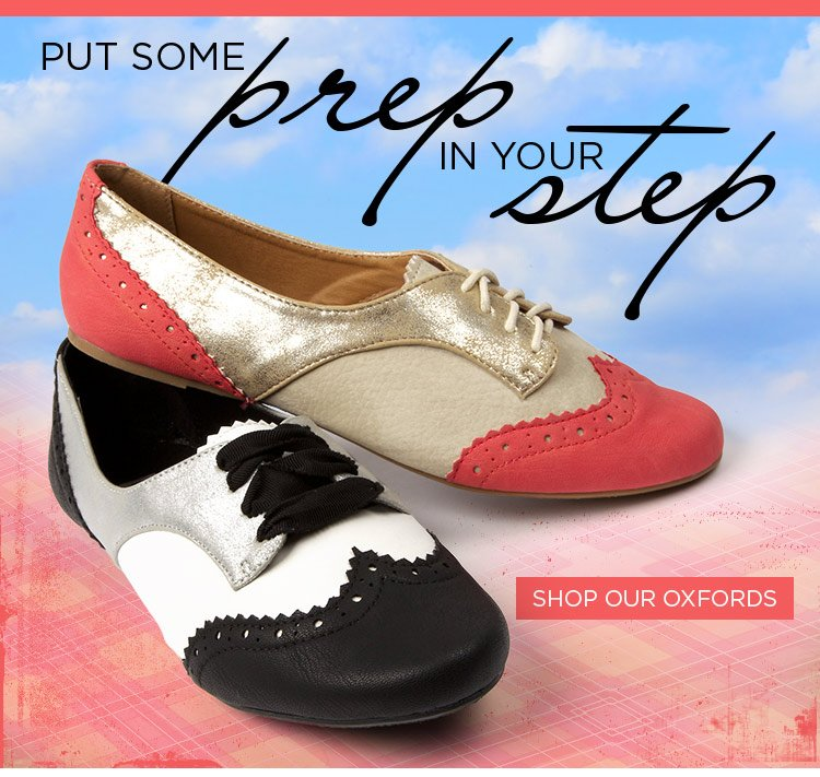 Put Some Prep In Your Step With Oxfords At Journeys