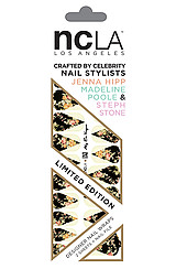 The NCLA x Nailing Hollywood Aly En Vogue Nail Wrap
