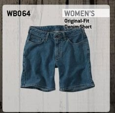 Women's Original-Fit Denim Short
