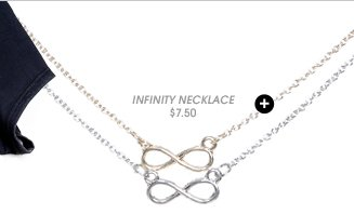2 On Infinity Pendant Necklace