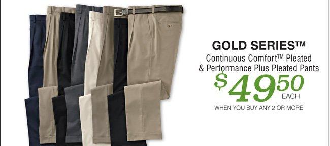 Shop All Gold Series Pants Mix & Match