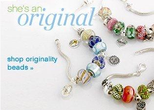 She's an original. Shop originality beads.