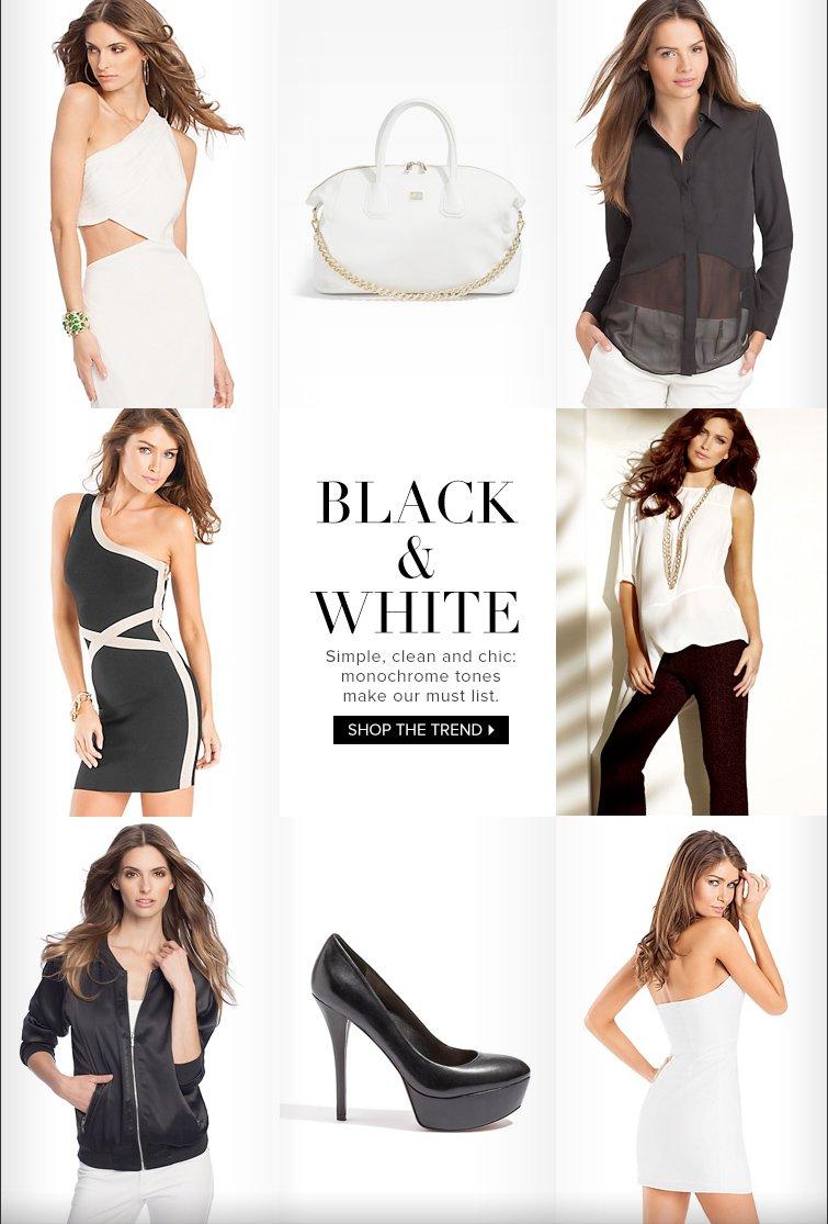 Shop Black & White Trend