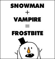 Snowman + Vampire